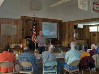 Participants learn the Art and Science of Trail Construction