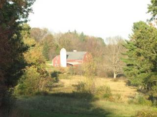 The view from the Heins Farm property