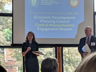 Meeting with Lt. Gov. Polito for Economic Development listening session