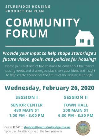 Housing Community Forum
