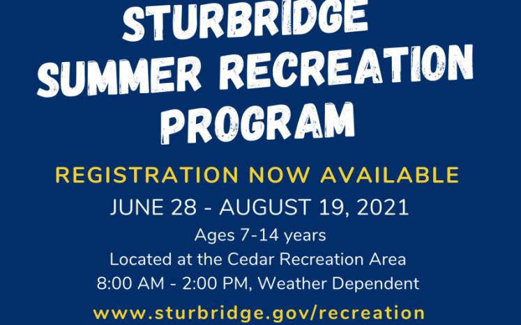 Summer Rec Flyer